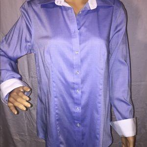 NWT Talbots Oxford Shirt Wrinkle Resistant